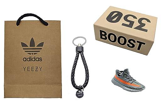 fb75b04b3d146 Amazon.com: Cellanet 1x Mini Sneaker Keychain Beluga With Faux ...