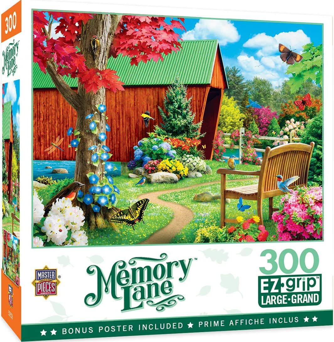 Autumn Warmth 300 Piece Jigsaw Puzzle MasterPieces Memory Lane 300 Puzzles Collection