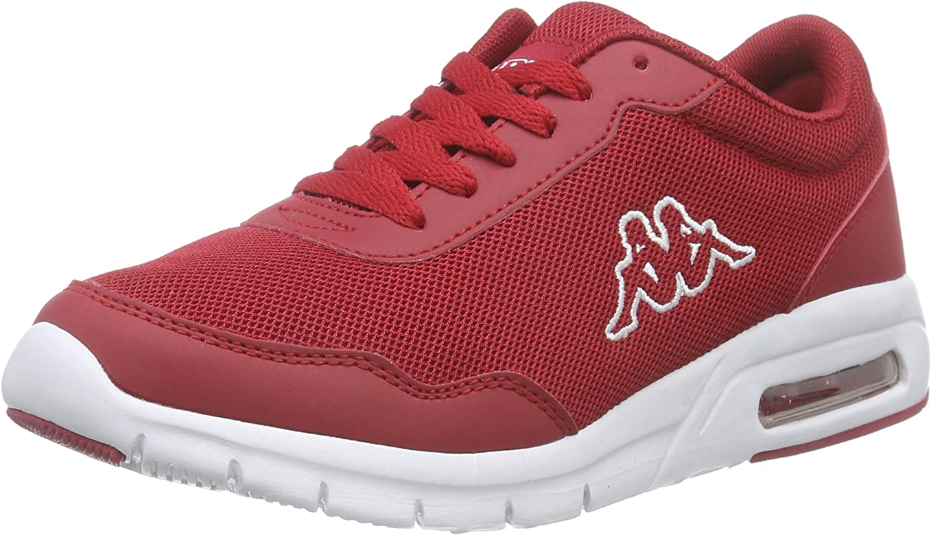 KappaMELO Footwear Unisex, Mesh/Synthetic - Zapatillas Unisex Adulto, Color Rojo, Talla 43: Amazon.es: Zapatos y complementos