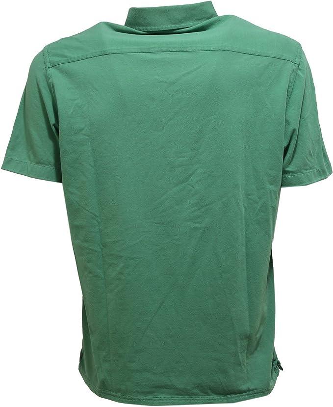 SONRISA 5663U Polo uomo Washed Collection Green Polo t-Shirt Men ...