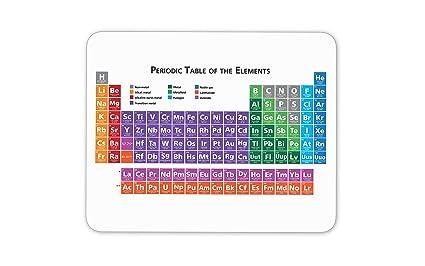 Tabla periódica alfombrilla de ratón (ciencia química regalo ordenador PC regalo # 8168