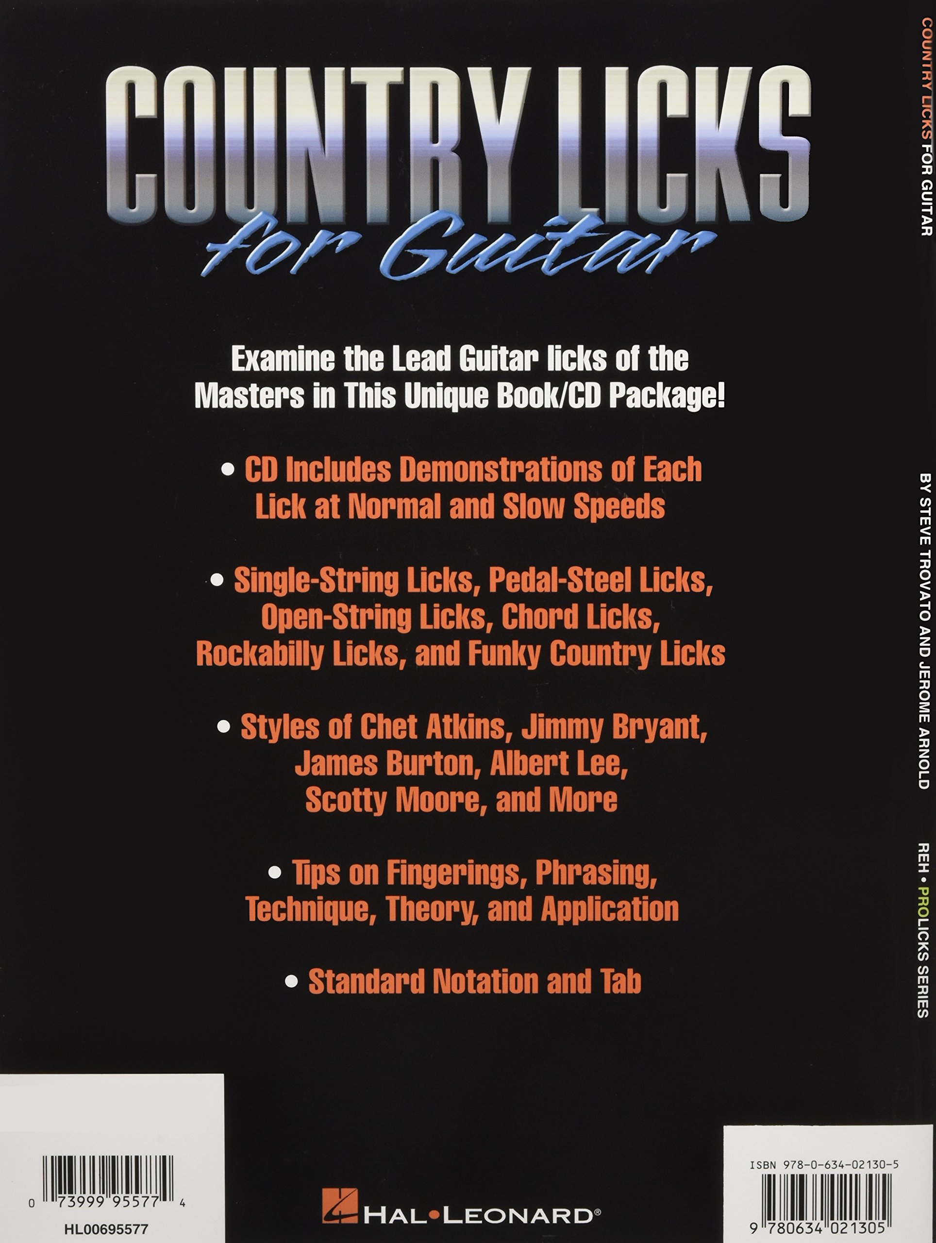 50 country dvd lick style