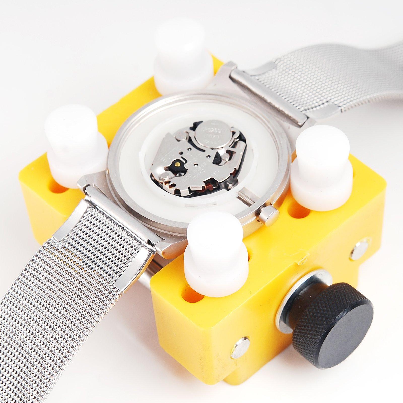 AMPM24 Watch Case Back Holder Repair Remover Opener Tool KIT WTL004