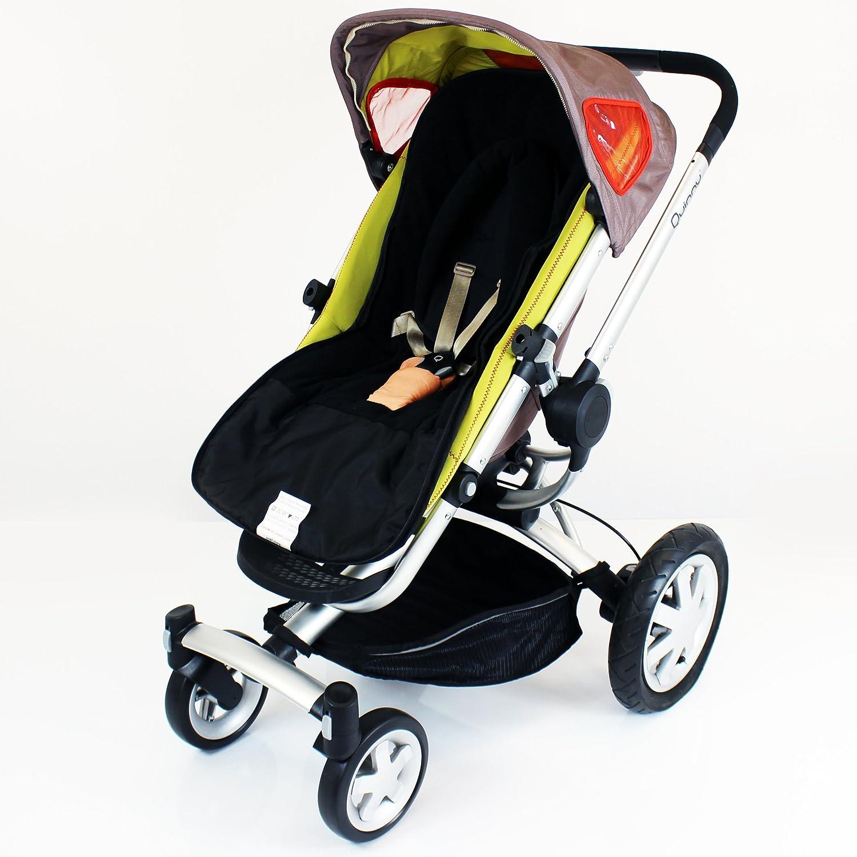Baby Travel Footmuff and Head Hugger Universal Fit (Black) BT301
