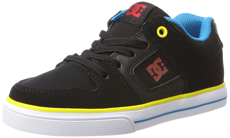 DC Shoes Pure Elastic, Scarpe da Ginnastica Basse Bambino ADBS300256