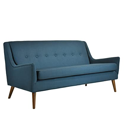 Amazon.com: Rex Mid century modern Loveseat / Apt. Sofa ...