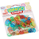 Darice 150-Piece Plastic Bingo Chip