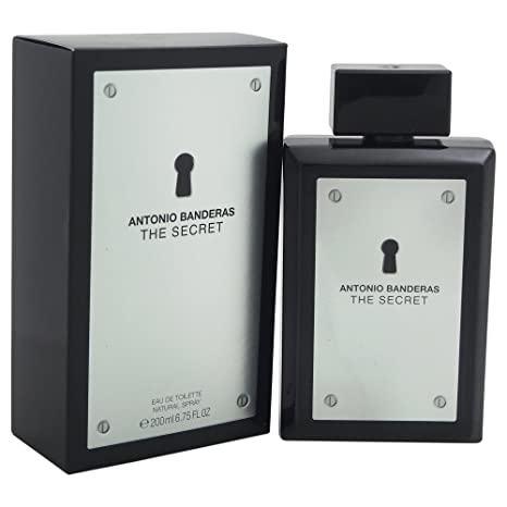 Amazon.com : Antonio Banderas The Secret Eau de Toilette Spray for Men, 6.75 Fluid Ounce : Beauty