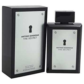 Antonio Banderas The Secret Eau de Toilette Spray for Men, 6.75 Fluid Ounce