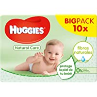 Huggies Natural Care - Toallitas para bebé, 560
