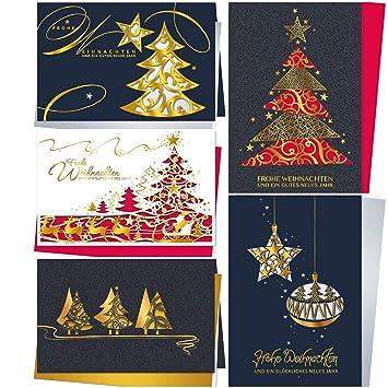 Einlegeblätter Für Weihnachtskarten.Edles Laser Kunst Weihnachtskarten Set 5 St Hochwertige Filigrane Klappkarten Mit Stanzung Inkl Einlegeblatt Umschlag Sehr Hochwertige