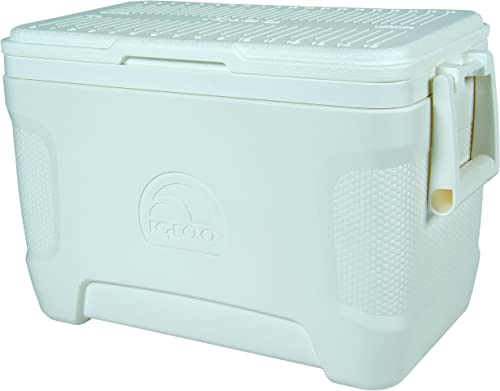 Marine Pontoon Boat Cooler with Wheels [Igloo] Picture