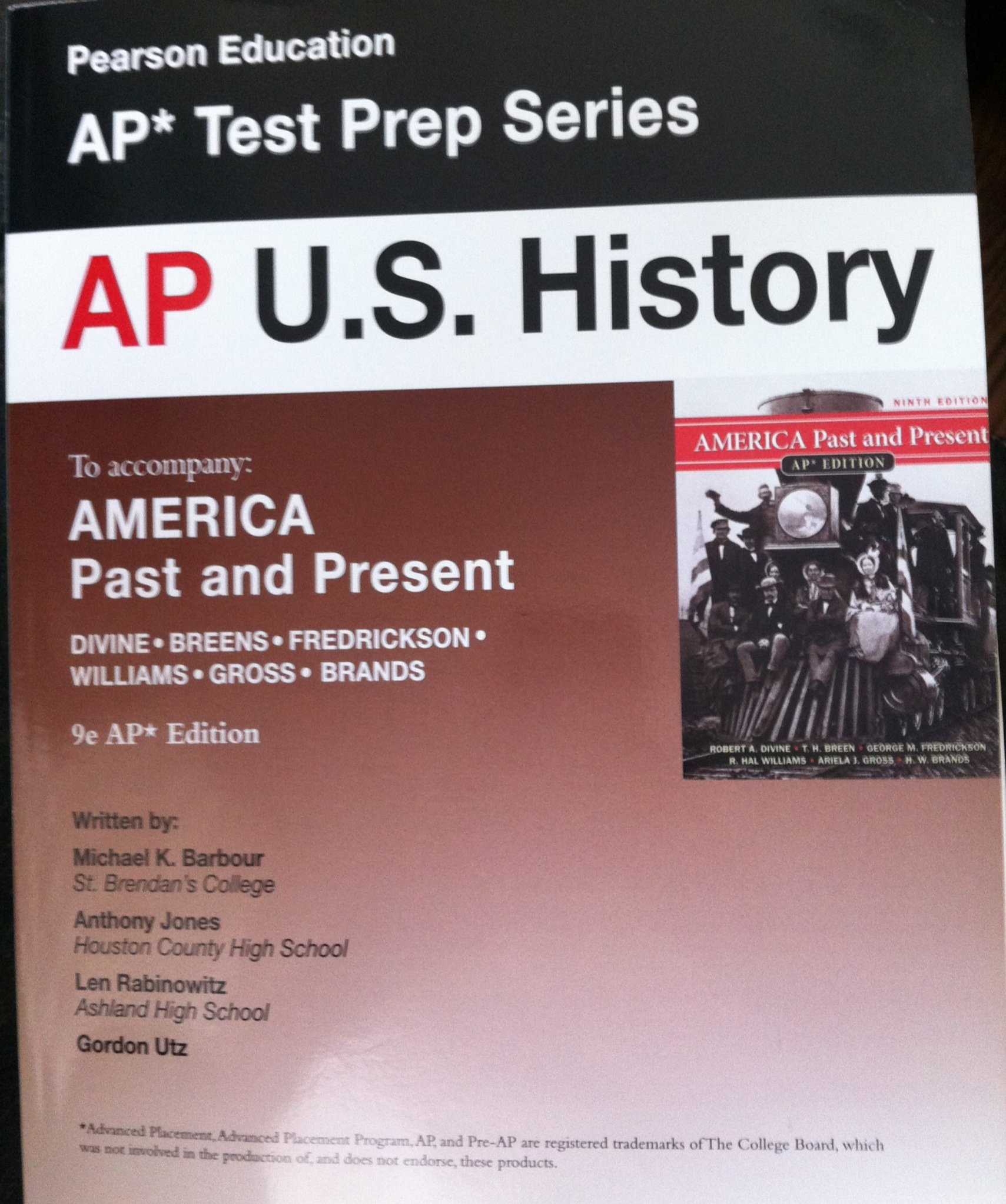 America: past and present ap edition 9th edition (9780131368859.