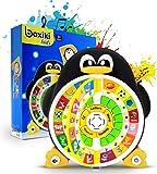 Boxiki Kids Poder Educativo de pingüinos de Juguete para el Aprendizaje de ABC en inglés Juegos de Mejora Core Pre-Kindergarten - El ABC, Las Palabras, la ortografía, Las Formas, Las Canciones
