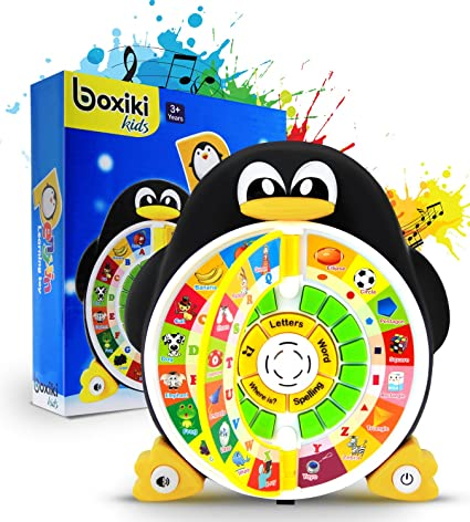 Boxiki Kids Penguin Power ABC Learning Educational Toy Game Center Boosts Core Pre Kindergarten