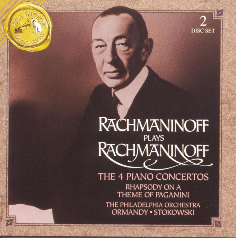 Rachmaninoff Plays Rachmaninoff: The 4 Piano Concertos by Masterworks