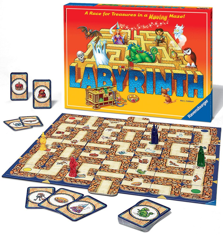 labyrinth board game ravensburger