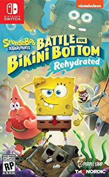 Spongebob Squarepants: Battle For Bikini Bottom   Rehydrated   Nintendo Switch by By    Thq Nordic