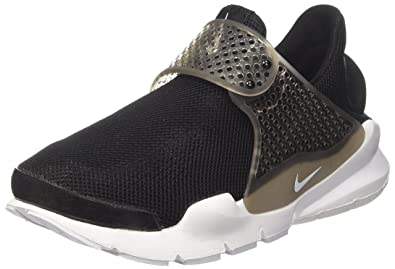 huge selection of 9f1fa 28b41 Nike Womens Wmns Sock Dart BR, BLACKWHITE-GLACIER BLUE, ...