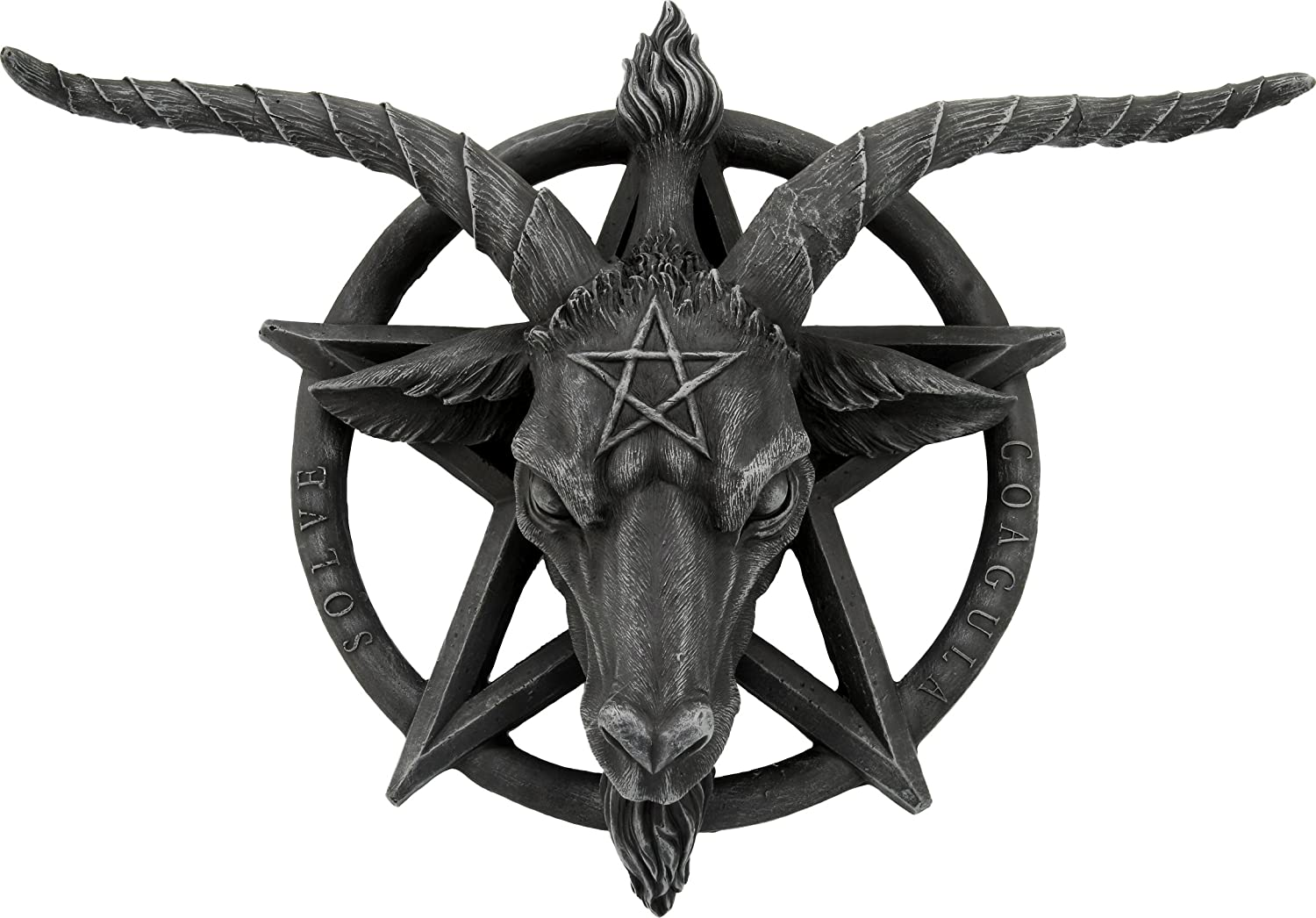 Nemesis Now Placa o Figura Decorativa Para la Pared Baphomet ...