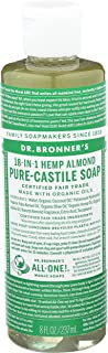 product image for DR. BRONNER'S, CASTILE LIQ SP,OG3,ALMOND 8 Fl Oz EA 1