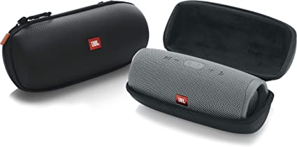 Amazon Com Jbl Lifestyle Carry Case For Charge 4 Bluetooth Portable Speaker Rugged Eva Shell With Weather Resistant Zippered Seal And Carabiner Style Clip Jbl Charge4 Case Musical Instruments