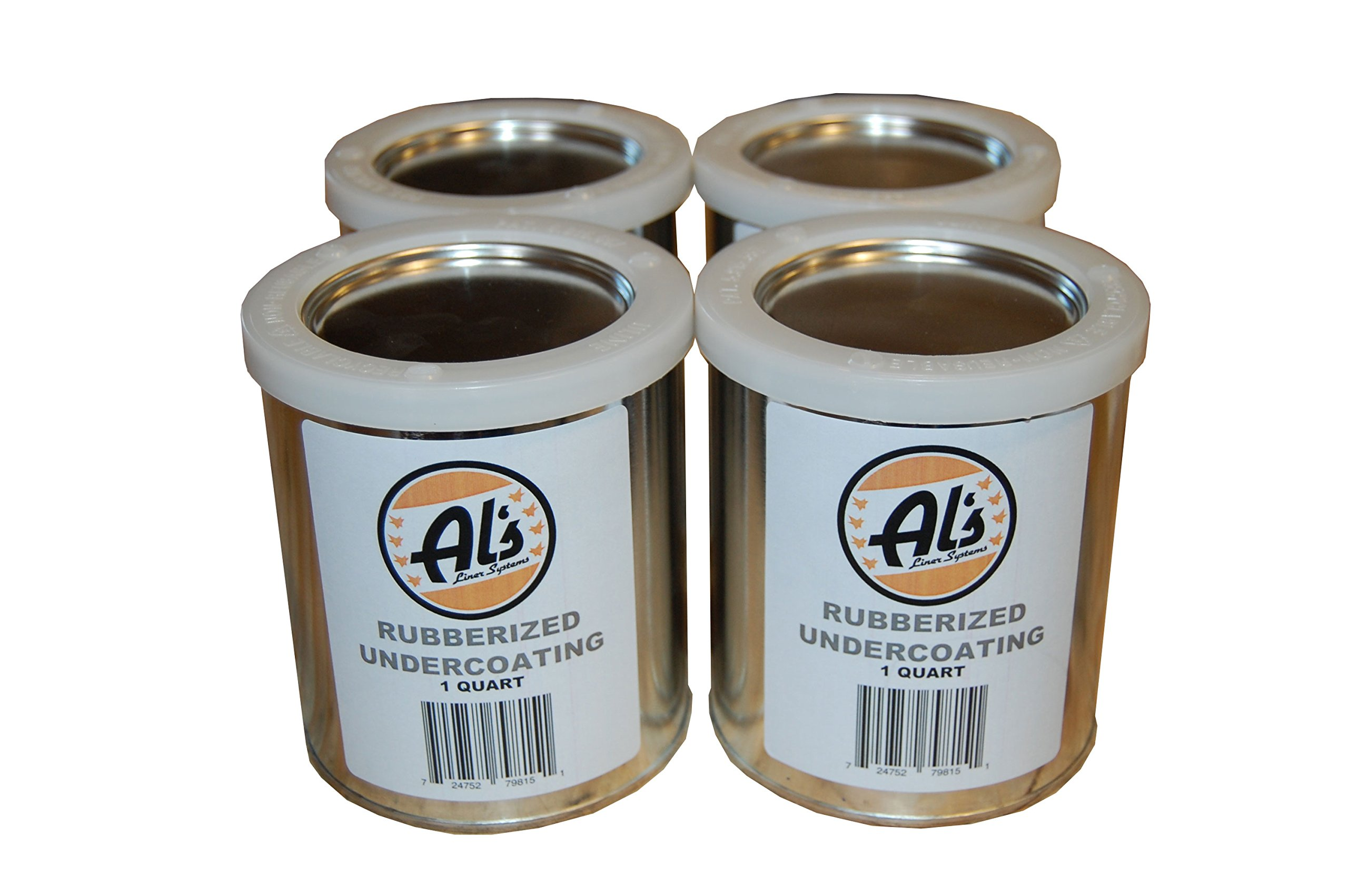 Al's Liner ALS-UCR1G ALS-UCR Premium DIY Rubberized Undercoating, Gallon, Black, 128. Fluid_Ounces by Al's Liner (Image #1)