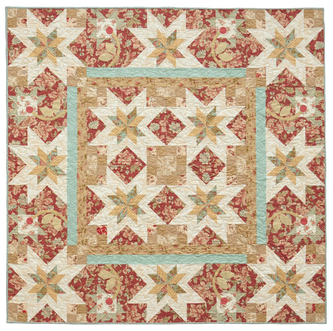 Pretty Patchwork Quilts: Traditional Patterns with Appliqué Accents by That Patchwork Place