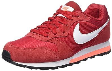 new product 6209c c2767 Nike Damen MD Runner 2 Sneaker Rot (Gym RedWhiteBright Mango)