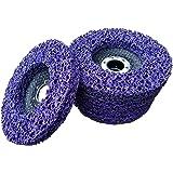 5 x Rostio CSD Scheibe 125 mm Lila   purple für Winkelschleifer   Flex