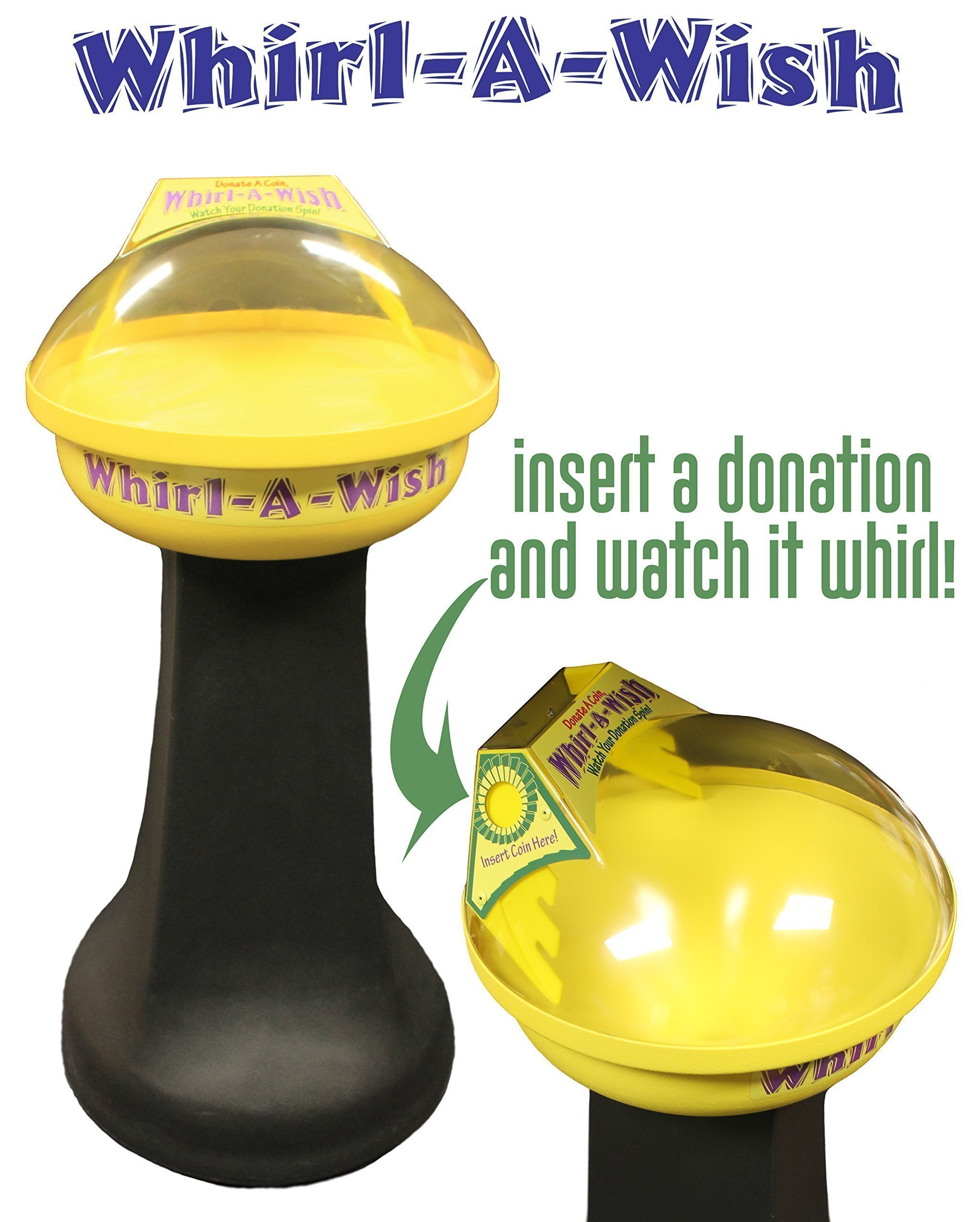 Whirl-A-Wish Coin Funnel