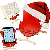 Support pour livres pour lire au lit coussin de lecture belenci hiboux beige - Fauteuil pour lire au lit ...