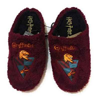 3405db441053 Primark Mens Harry Potter Gryffindor Slippers Mules Size S-M-L ...