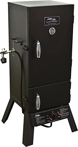 Smokehouse Products Big Chief Black Powder Coated Front Load Smoker