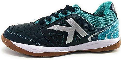 Kelme Boys' Futsal Shoes Black Black 12