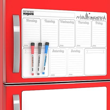 Big Weekly Dry Erase Boards For Homework Organization