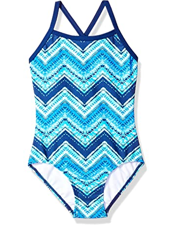 a77fb410188b6 Kanu Surf Girls' Layla Beach Sport Banded One Piece Swimsuit