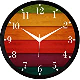 RAG28 11.75 Inches Designer Wall Clock for Home/Living Room/Bedroom/Kitchen (9208)