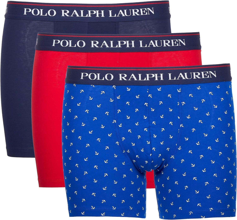 Ralph Lauren 71473041 0002 Lot de 3 boxers Multicolore
