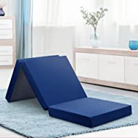 Olee Sleep Topper Tri-Folding Memory Foam Mattress