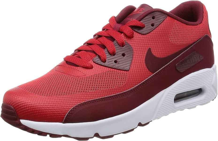 e86a6d7f4a Amazon.com | NIKE Men's Air Max 90 Ultra 2.0 Essential University Red/Team  Red/White Running Shoe 8.5 Men US | Road Running