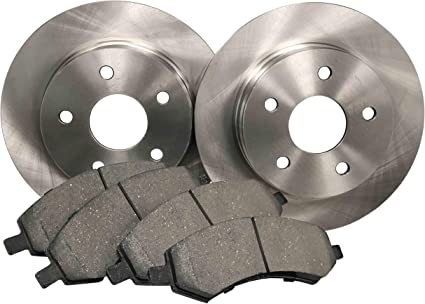 Rotors Ceramic Pads F+R 2006 Lincoln Zephyr OE Replacement