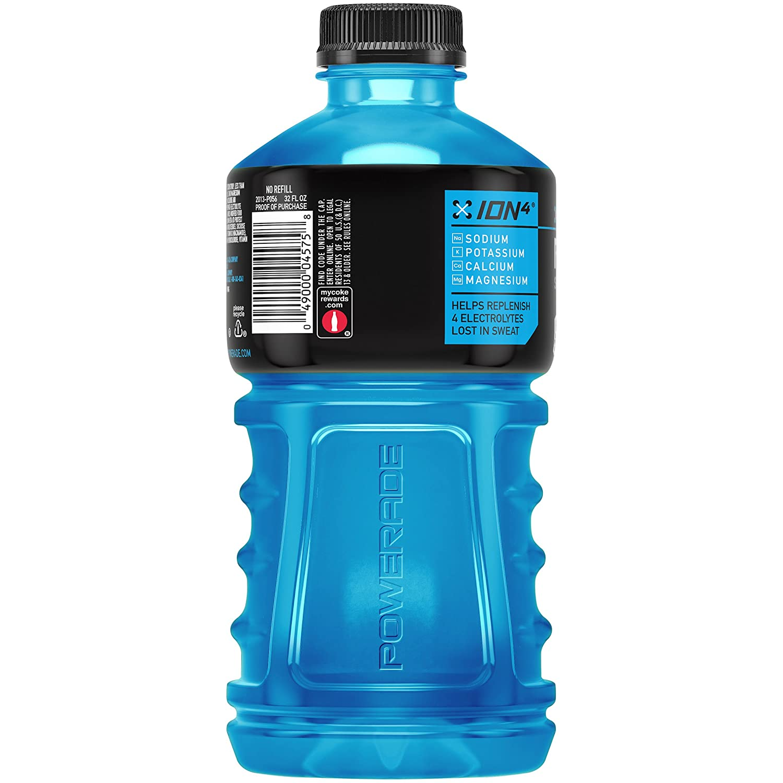 Amazon Com Powerade Electrolyte Enhanced Sports Drink W Vitamins