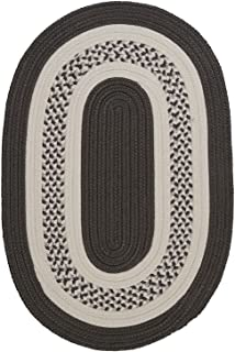 product image for Colonial Mills Home Decorative Oval Rug Crescent Gray- 3'x5'