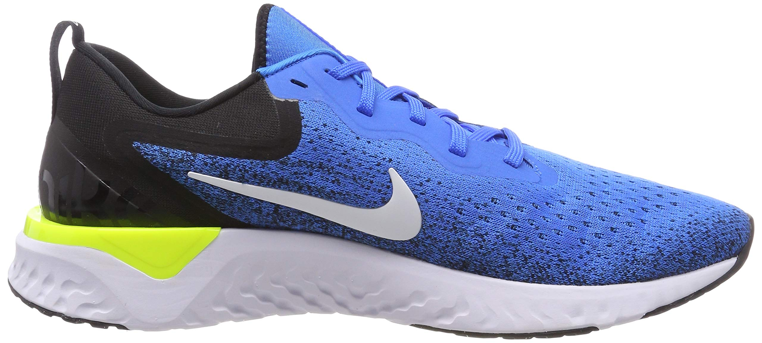 Nike Odyssey React Men's Running Shoe Green Abyss/Volt-Blue Force-White 7.5 by Nike (Image #6)