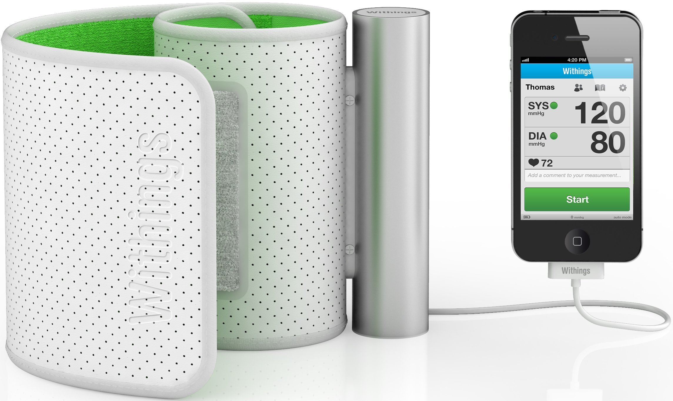 Withings Smart Blood Pressure Monitor (for iPhone, iPad and iPod touch)