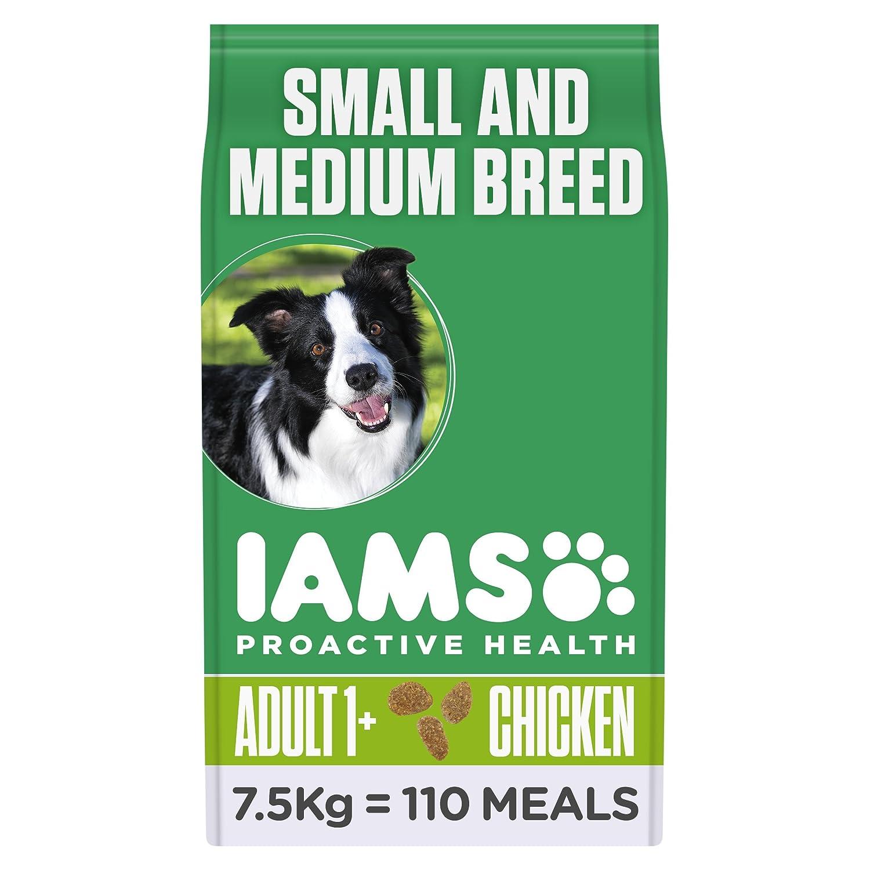 IAMS - Croquettes pour Chien Adulte Petite et Moyenne Race - Poulet - 12kg 8710255128207