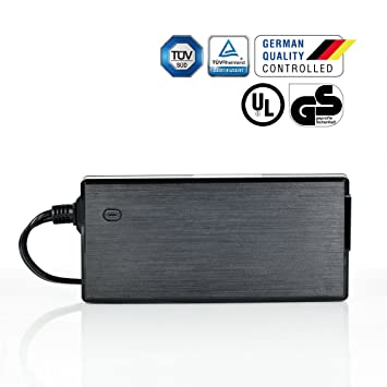 LEICKE - Cargador para ITX Pico PSU LCD 12V 10A 5,5*2,5mm – 120 W