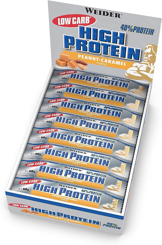 Weider 40% Protein Low Carb. Barrita alto contenido en ...