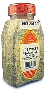 POT ROAST SEASONING NO SALT PACKED IN LARGE JARS